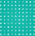 100 baby kids icons vector image vector image