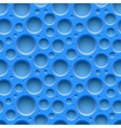 Blue seamless dotted plastic background vector image vector image