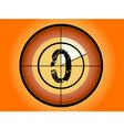 circle countdown vector image