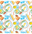 nourishing meal vector image