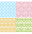 baby seamless patterns vector image vector image