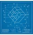 Blueprint background image vector image vector image