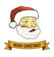 Christmas santa claus icon vector image vector image