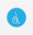 cleaning icon sign symbol vector image