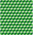 Green cubes seamless texture vector image