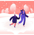happy family mother and little daughter hold vector image vector image