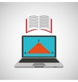 learn online school geometry book vector image