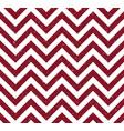 red grunge chevron pattern background vector image