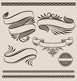 Ribbon Swirl vector image