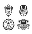 set logotypes elements labels badges vector image