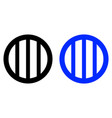 ventilation grilles icon vector image vector image