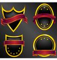 emblems vector image