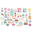 bakery and cooking collection vector image
