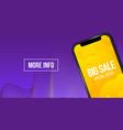 creative of big sale banner vector image vector image