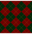 Green Royal Red Diamond Background vector image vector image