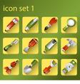 icone set 1 vector image vector image