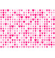 love seamless background with straight smooth pink vector image vector image