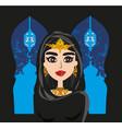 portrait muslim beautiful girl in hijab