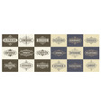 set labels and banners vector image vector image