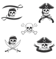 Pirate symbols set