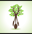 restaurant forks make a tree vector image vector image
