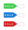 sale labels for promotion vector image