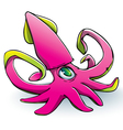 Squid Plushie vector image vector image
