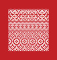 traditional ornament embroidery peoples vector image vector image