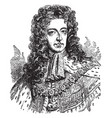 william iii vintage vector image vector image