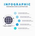 data global internet network web infographics vector image