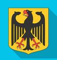 emblem single icon in flat styleemblem vector image