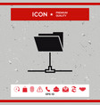 folder sharing icon vector image