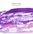 violet purple lilac grunge marble watercolor vector image vector image