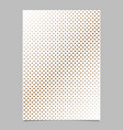 abstract halftone dot pattern background brochure vector image vector image