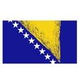 Bosnia and Herzegovina Flag Isolated vector image