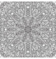 decorative ethnic sketchy contour line art vector image vector image