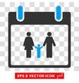 Family Calendar Day Eps Icon vector image vector image