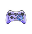 gaming controller icon isolated wireless gamepad vector image