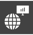 Global Servers vector image vector image
