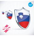 I Love Slovenia Flag vector image vector image