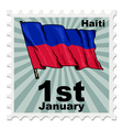 national day of Haiti vector image vector image