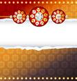 rakhi background vector image vector image