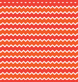 retro chevron pattern background with white red vector image