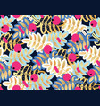 seamless pattern rowan vector image