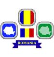 symbol of Romania vector image