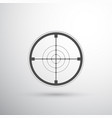 sniper scope target vector image
