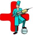 doctors profession vector image