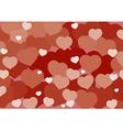 Valentine Hart Background vector image