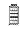 battery supply isolated icon vector image