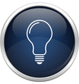 Blue lamb icon vector image